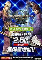 ドラゴンズドグマ オンライン 経験値・PP2.5倍キャンペーン A4POP